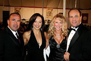 (Lt. to Rt.) - Doug Gould, Dina Murillo, Kathy Crone & Arif Halaby
