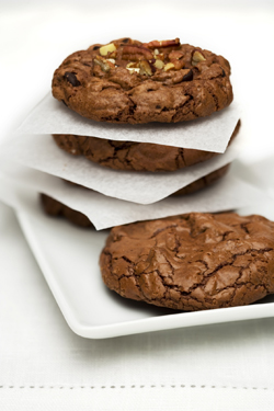Rolled Chocolate Cookies