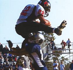 Collin Keoshian, SCCS running back/linebacker