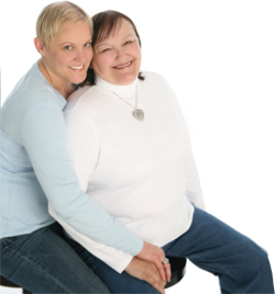 Nancy Coulter, 64, and Heather Warrick, 38