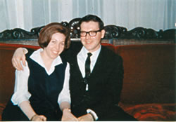 Dale and Marsha McLean in Paris - early