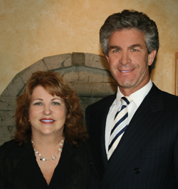 Rosemary Murphy and Dr. Mark Berman