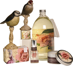 TOKYOMILK Gin and Rosewater Candle, Finest Perfumed Soap, Bon Bon Bubbling Bath,Gin and Rosewater Parfumariecuriosite, Finest Lip Balm Cobblestone Cottage 253-0209