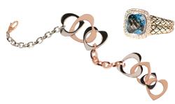 Scott Kay ring Rebecca bracelet Bella Jewelers 255-0819