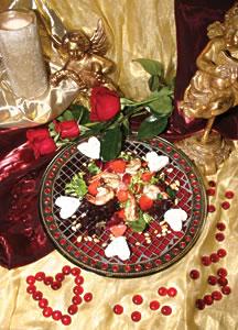 Lemon-Pepper Shrimp and Strawberry Salad