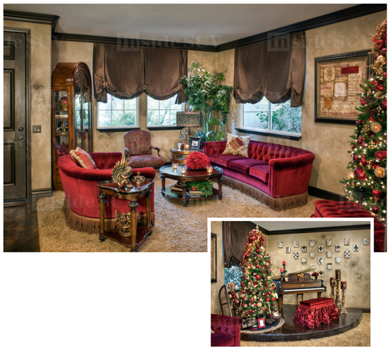 (259 9609) Before We Bought The House. I Think Subconsciously I Designed  The Room Around It. Consumers Furniture Has Been A Festival Of Trees ...