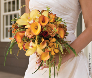 photo by Ted Dayton • florals by Charmaines Bouquet Canyon Florist 297-3100