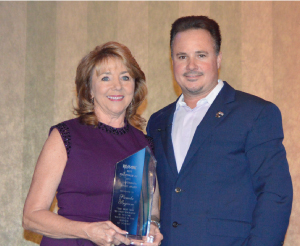 Pam Ingram was the 2015 recipient of RE/MAX of Valencia & Santa Clarita