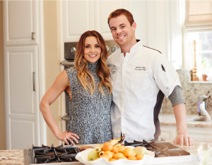 Danielle McPartlin and Chef Thatcher Mills