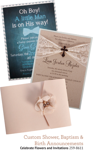 Celebrate Flowers and Invitations 259-8611