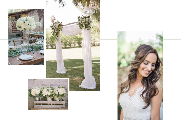 photography by Becca Rillo   LEFT Celebrate Flowers & Invitations       RIGHT Garrett Markenson
