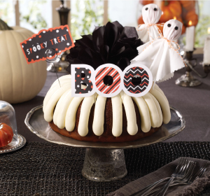 Spooky Treat bundt available at Nothing Bundt Cakes 291-2424